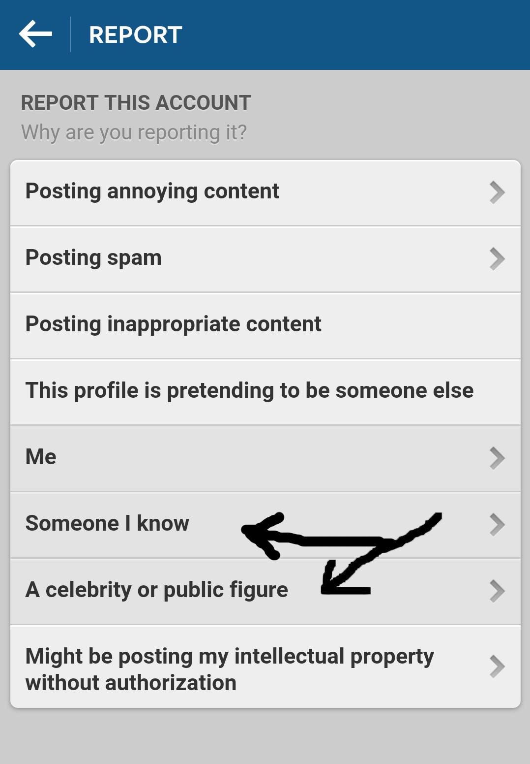 Kako pravilno prijaviti krađu identiteta na Instagramu