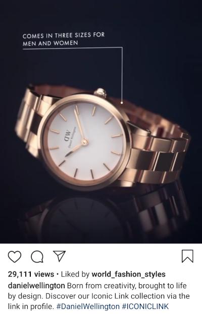 primer noćne objave na instagramu