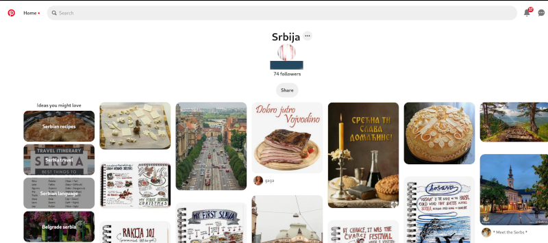Upotreba Pinteresta za marketing na društvenim mrežama